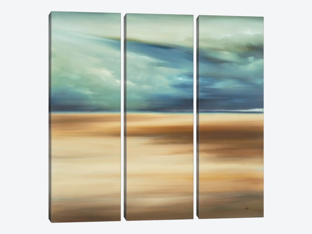 Scape 109 by KC Haxton 3-piece Canvas Wall Art