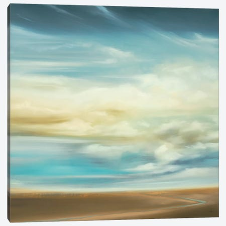 Scape 154 Canvas Print #HAX12} by KC Haxton Canvas Art