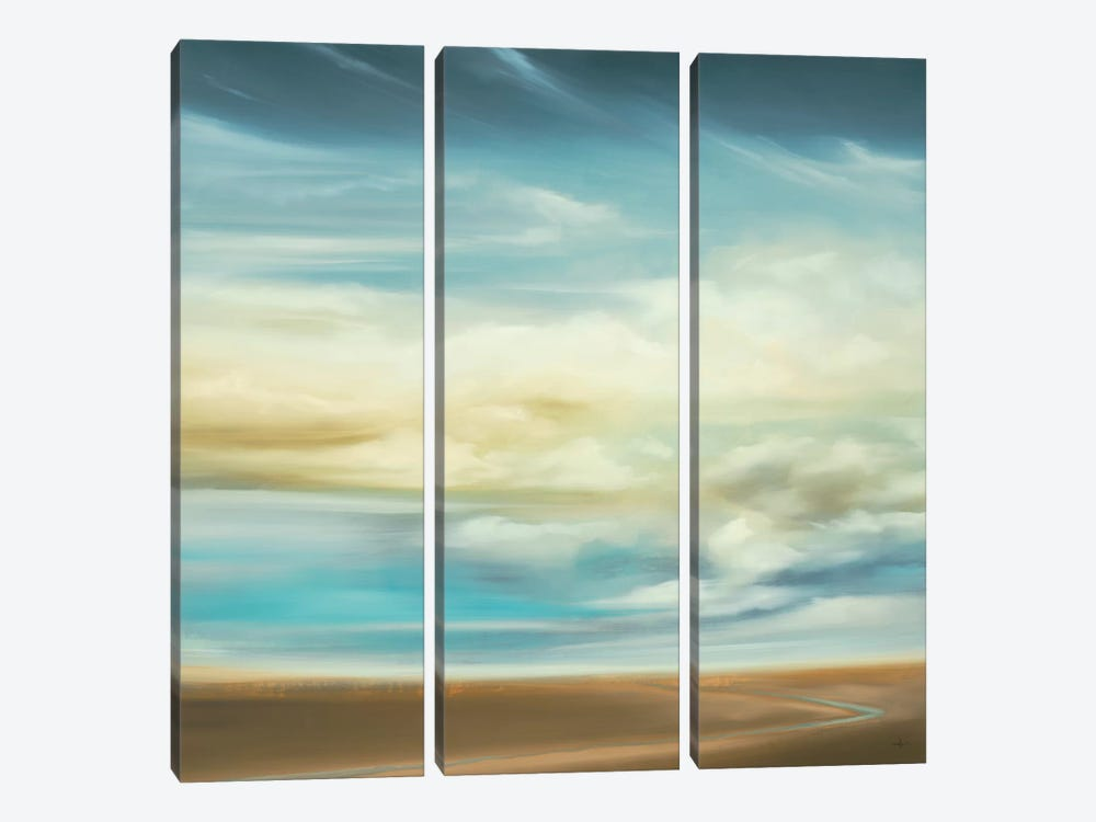 Scape 154 by KC Haxton 3-piece Canvas Print