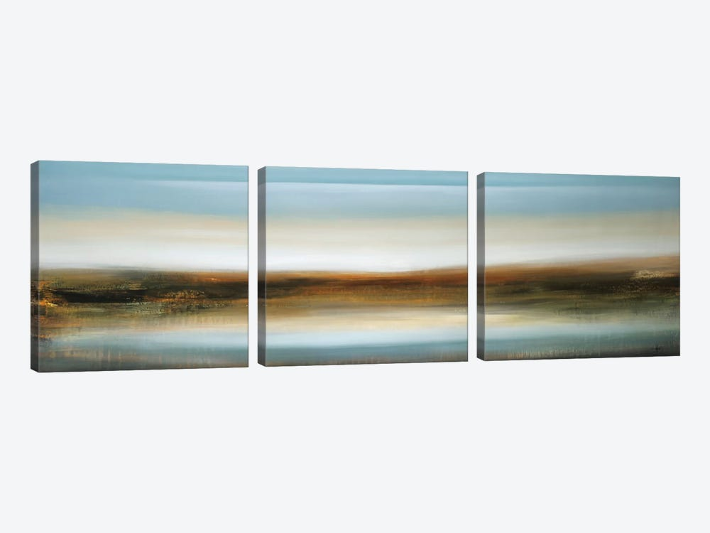 Scape 309 by KC Haxton 3-piece Canvas Print