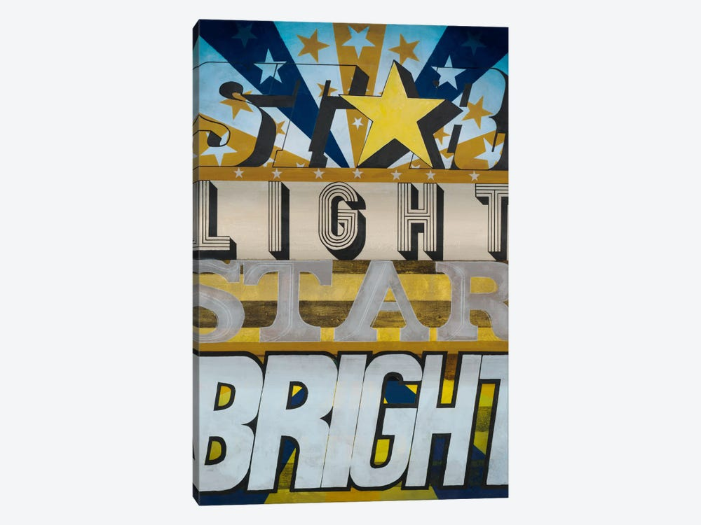 Star Light Star Bright by KC Haxton 1-piece Canvas Art