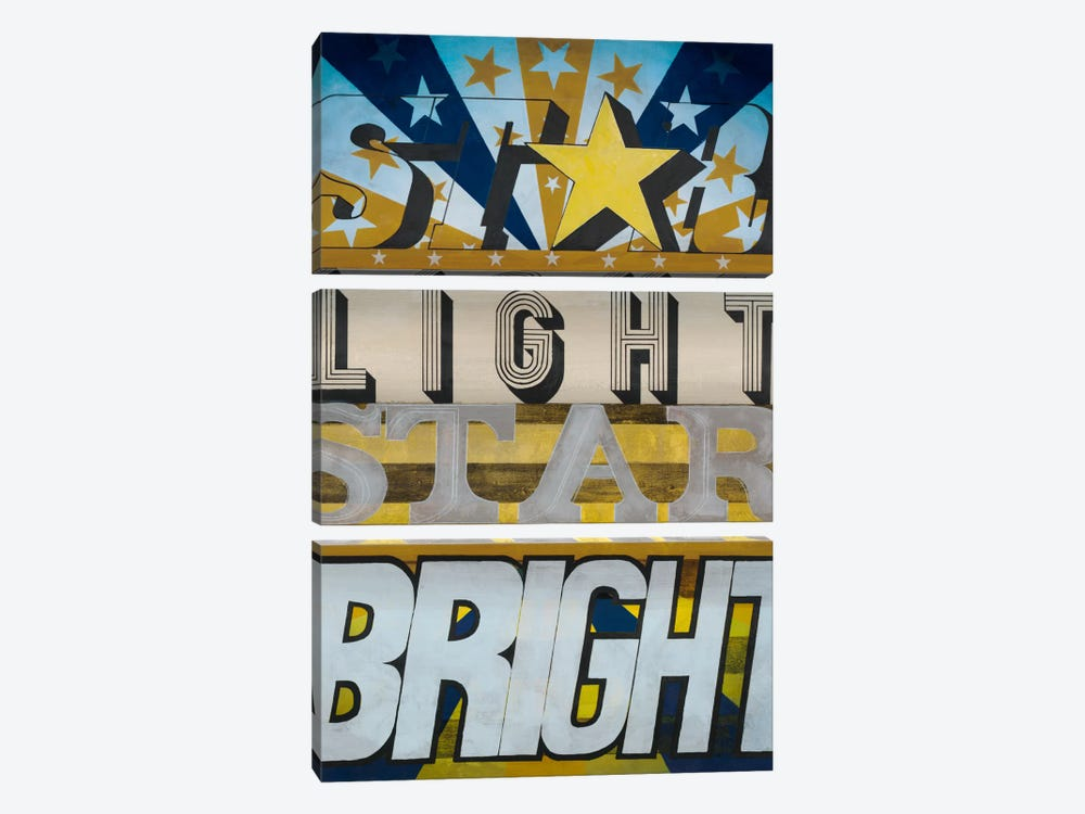 Star Light Star Bright by KC Haxton 3-piece Canvas Art