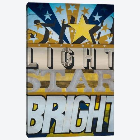 Star Light Star Bright Canvas Print #HAX15} by KC Haxton Canvas Art Print