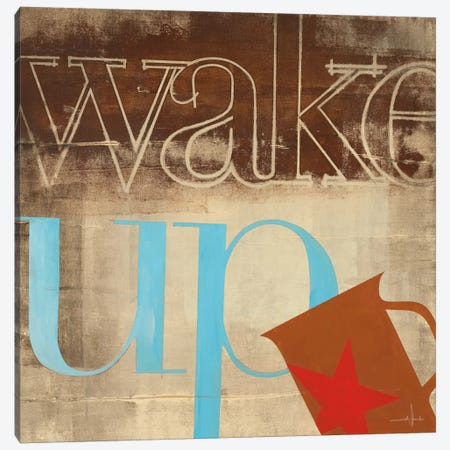 Wake Up Canvas Print #HAX16} by KC Haxton Canvas Art Print