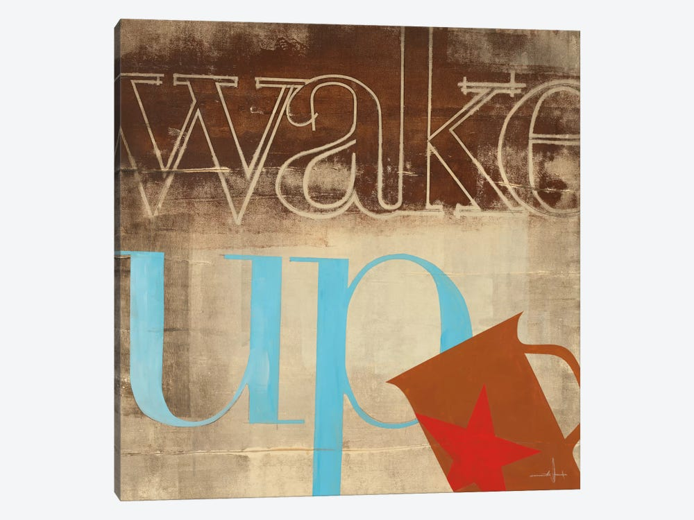 Wake Up by KC Haxton 1-piece Canvas Art Print