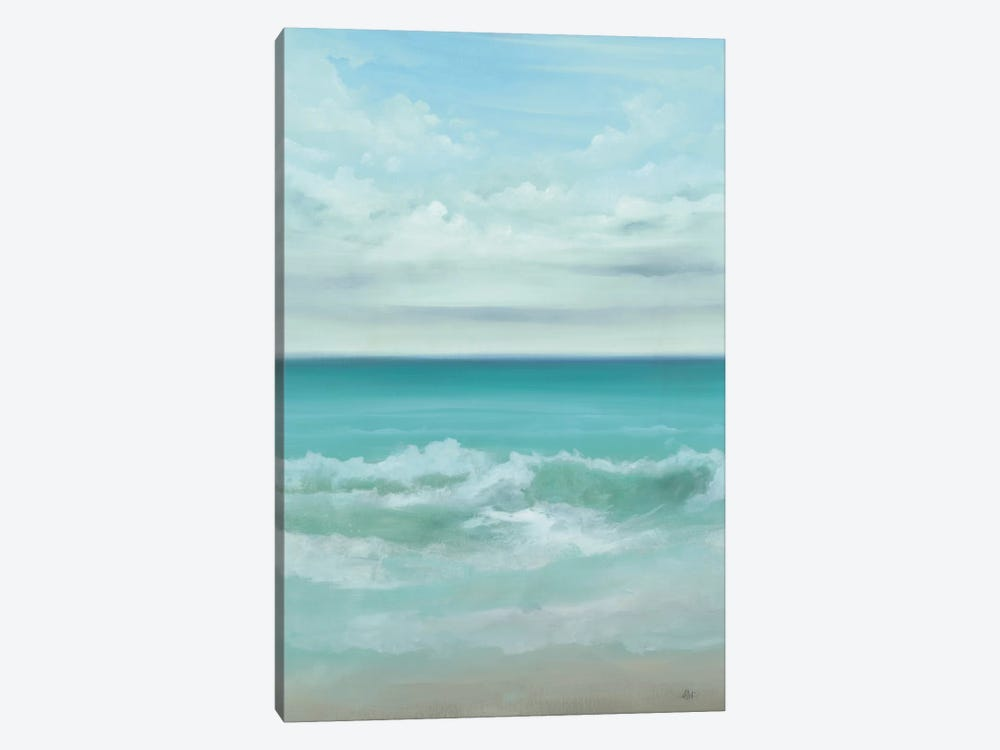 Aqua Marine 1-piece Canvas Artwork