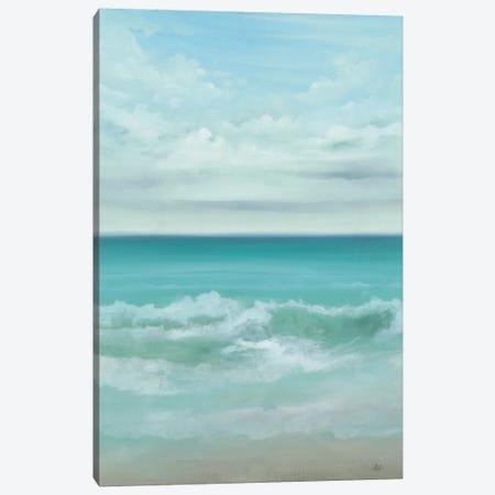 Aqua Marine Canvas Print #HAX1} by KC Haxton Canvas Art