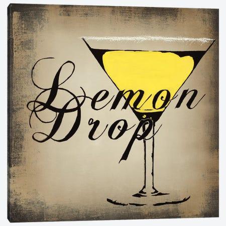 Lemon Drop 3-Piece Canvas #HAX20} by KC Haxton Canvas Print