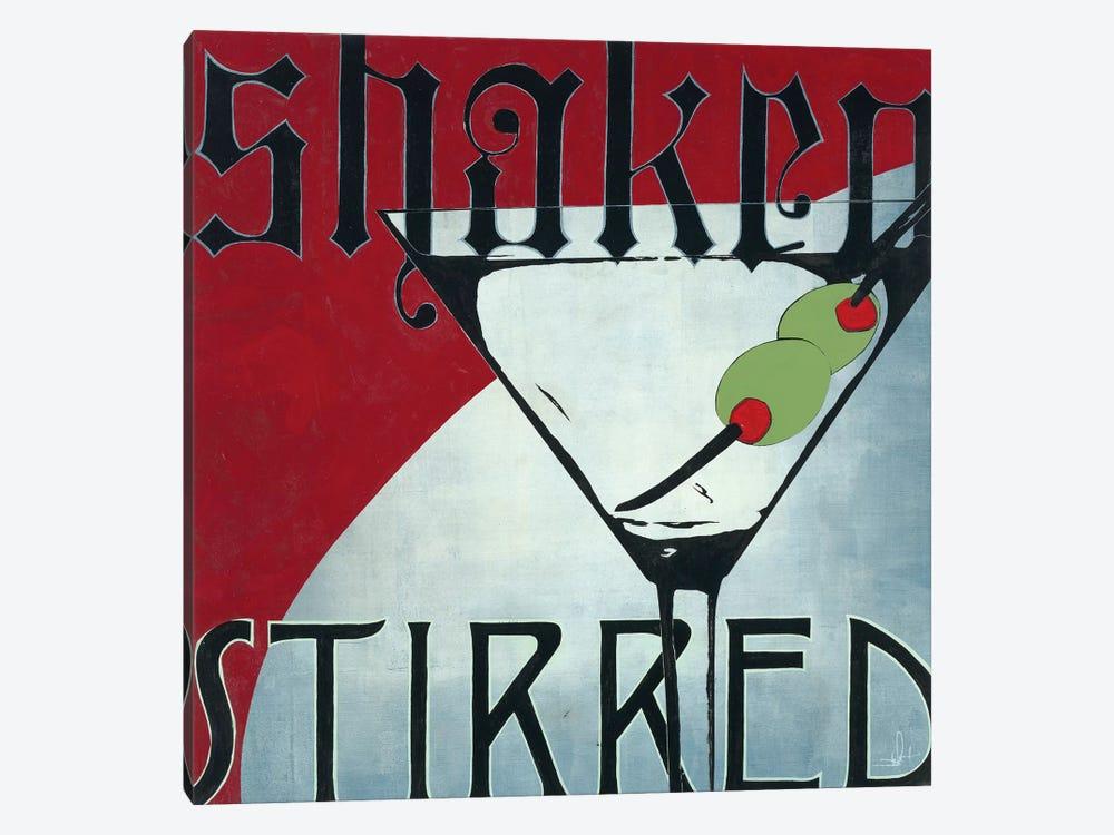 Shaken Stirred by KC Haxton 1-piece Canvas Art Print