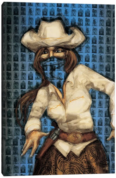 Bandita Canvas Art Print