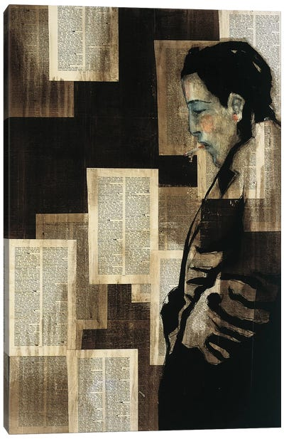Mr. Hollywood Canvas Art Print