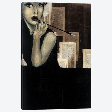 Mrs. Hollywood Canvas Print #HAX27} by KC Haxton Canvas Artwork