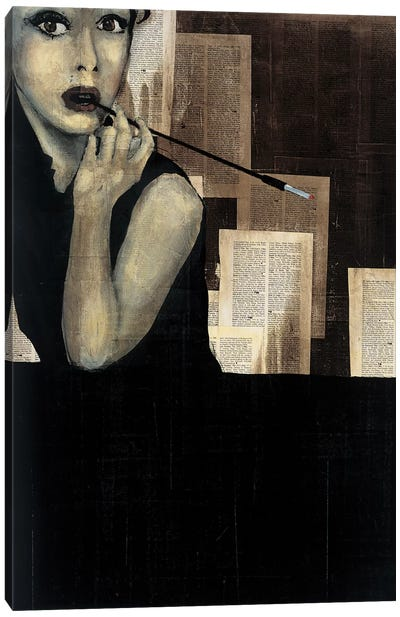 Mrs. Hollywood Canvas Art Print
