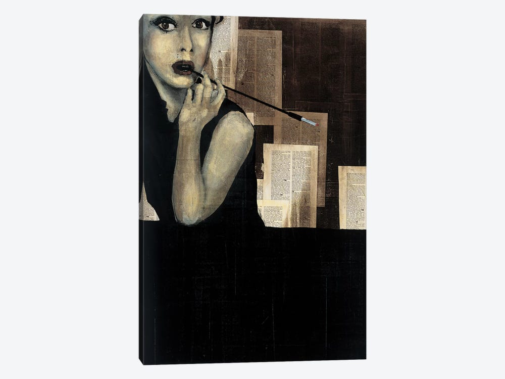 Mrs. Hollywood by KC Haxton 1-piece Art Print