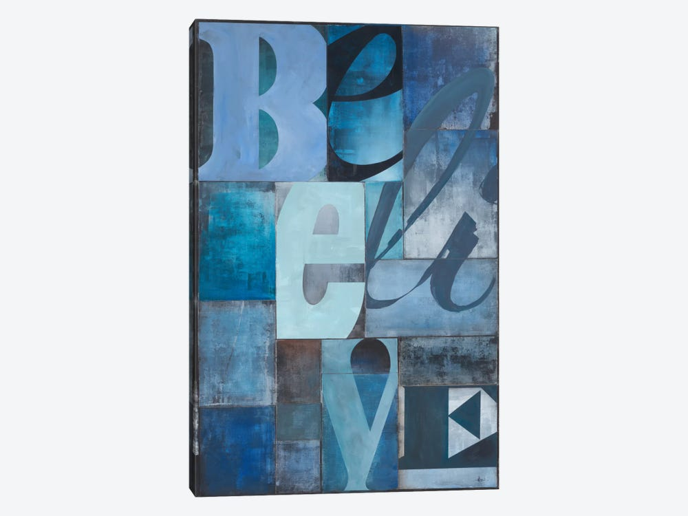 Believe by KC Haxton 1-piece Canvas Art Print