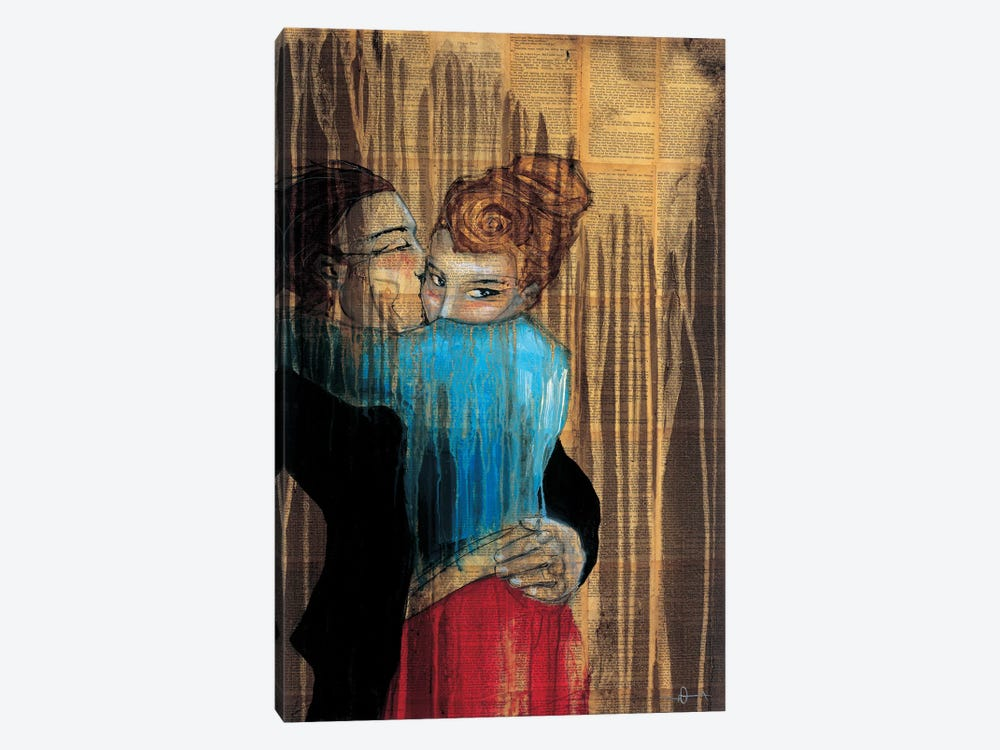 Punch Drunk Love by KC Haxton 1-piece Art Print