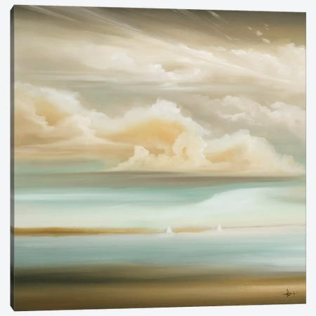 Today, Out I Canvas Print #HAX31} by KC Haxton Canvas Artwork