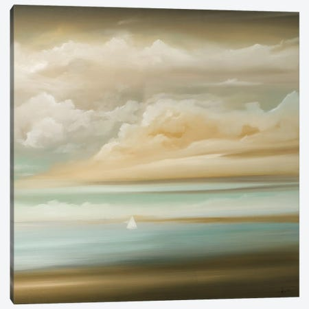 Today, Out II Canvas Print #HAX32} by KC Haxton Canvas Wall Art
