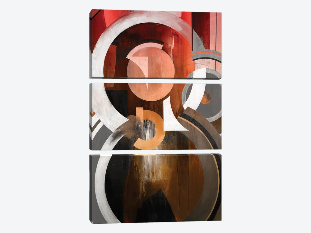 Focal by KC Haxton 3-piece Canvas Art