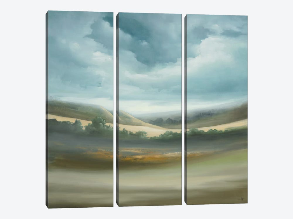 Scape 357 by KC Haxton 3-piece Canvas Art Print