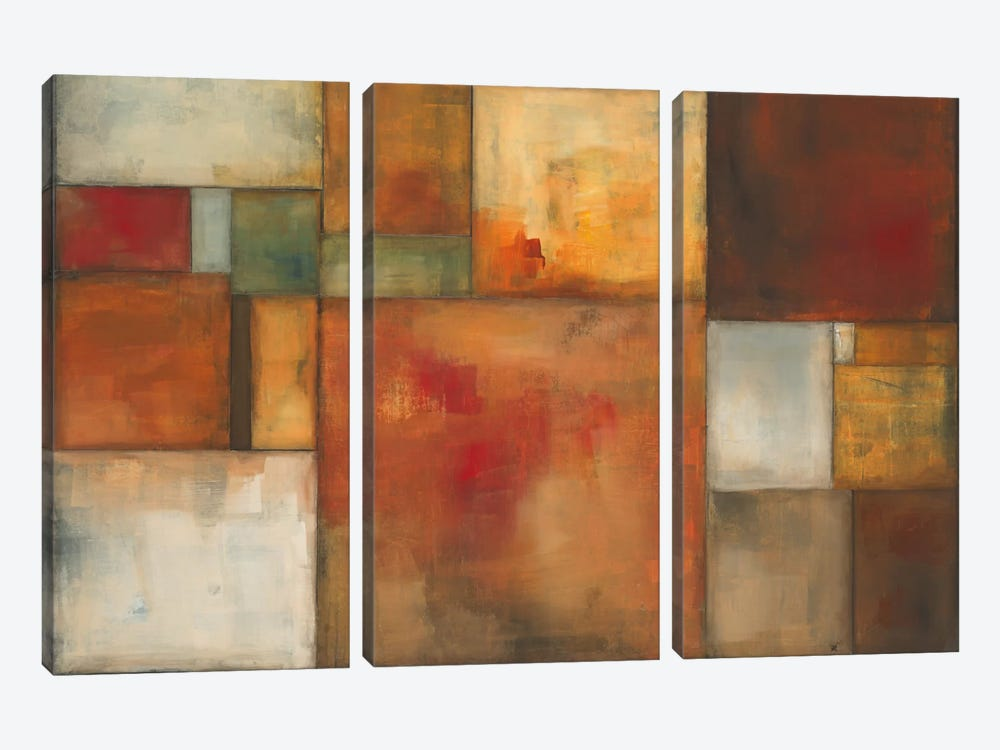 Mod by KC Haxton 3-piece Canvas Print