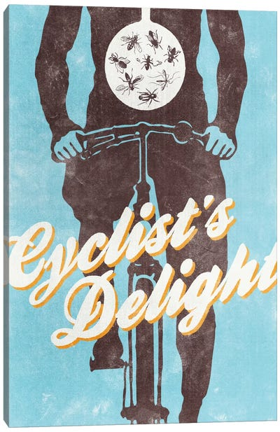 Cyclist's Delight Canvas Art Print