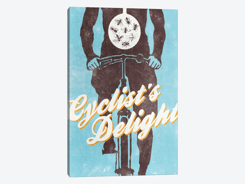 Cyclist's Delight by Hannes Beer 1-piece Art Print