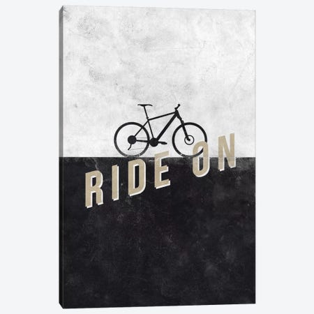 Ride On Canvas Print #HBE6} by Hannes Beer Canvas Art