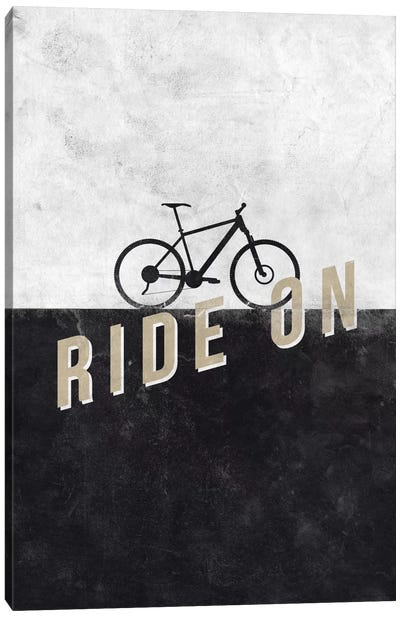 Ride On Canvas Art Print