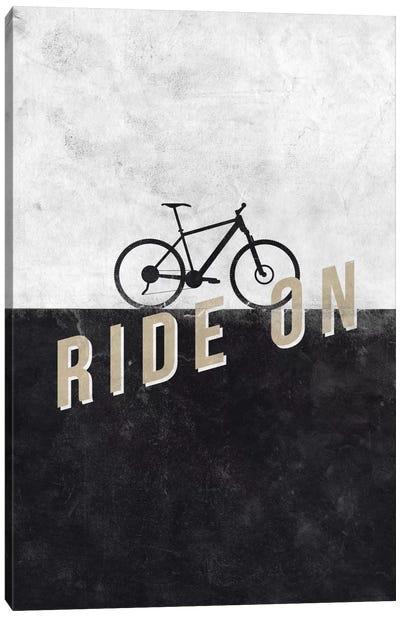 Ride On Canvas Art Print