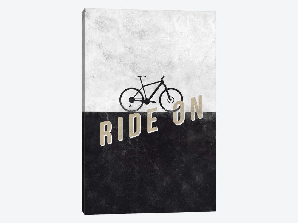 Ride On by Hannes Beer 1-piece Canvas Artwork