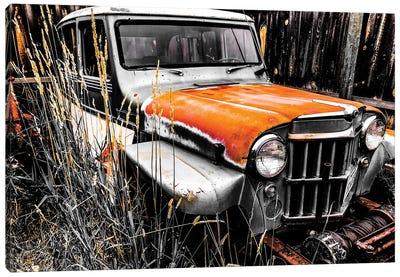 Willys Rust II Canvas Art Print