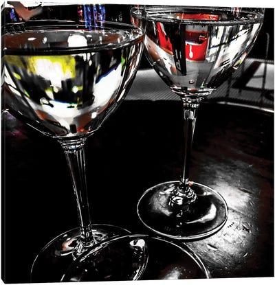 Wine Reflections I Canvas Art Print
