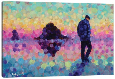 Dreaming Of Cannon Beach Canvas Art Print