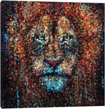 King Of Beasts Canvas Art Print