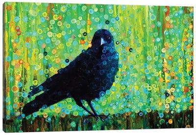 Mother Crow Canvas Art Print