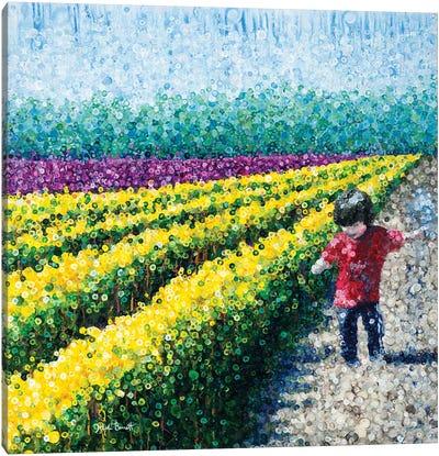 Postcard Canvas Art Print