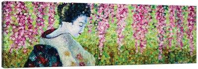 Quiet Garden Canvas Art Print