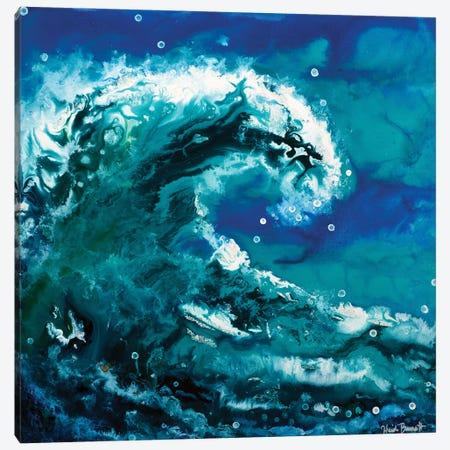 Ocean Wave Canvas Print #HBT48} by Heidi Barnett Canvas Art Print
