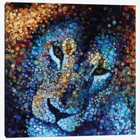 Beautiful Beast Canvas Print #HBT4} by Heidi Barnett Canvas Art