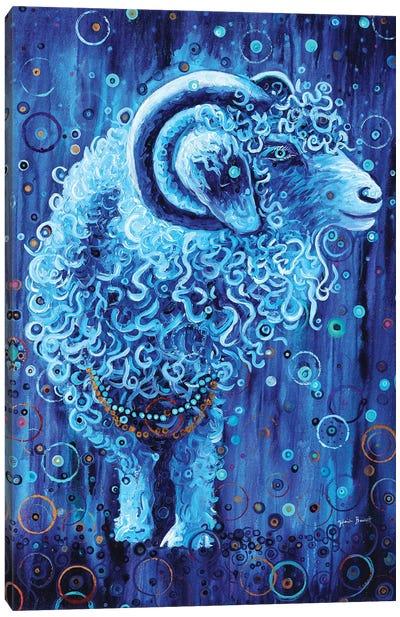 Cosmic Goat Canvas Art Print