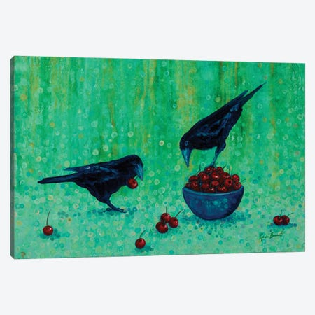 Dinner For Two Canvas Print #HBT9} by Heidi Barnett Canvas Art Print