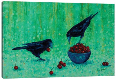 Dinner For Two Canvas Art Print