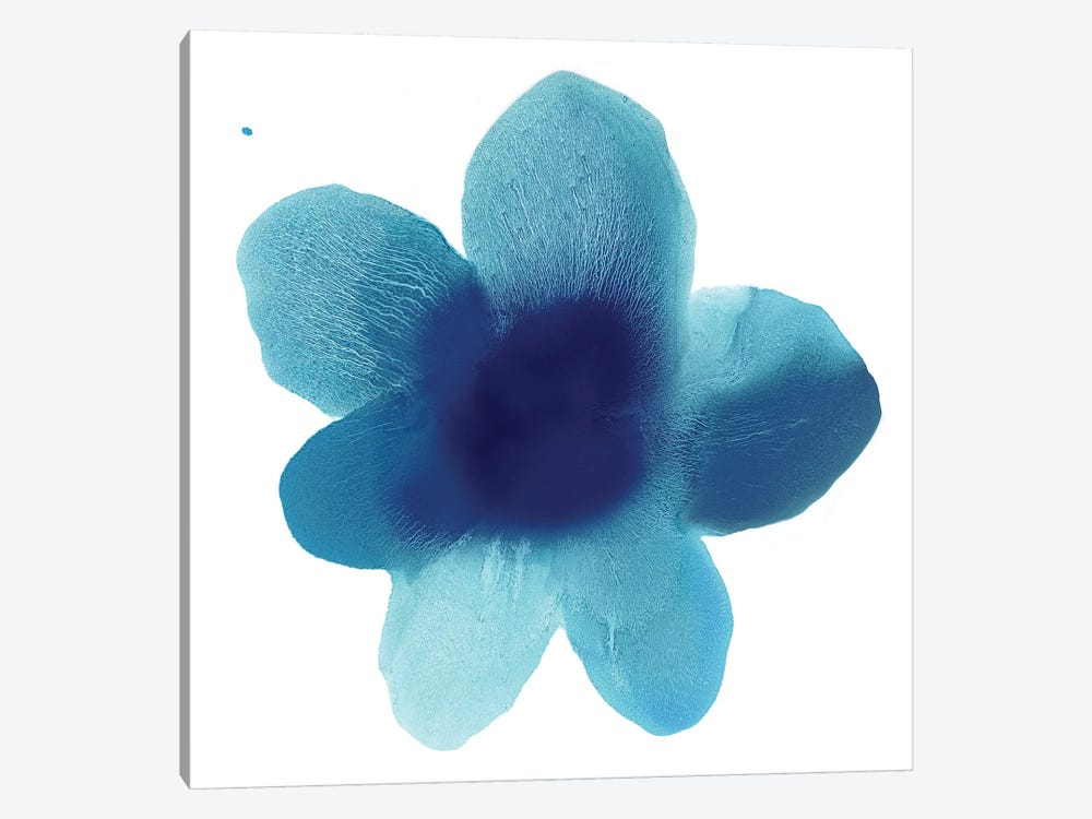Blue Bloom I 1-piece Canvas Art