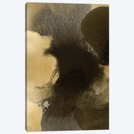 Circulate Gold I Canvas Print #HCA25} by Hannah Carlson Canvas Art