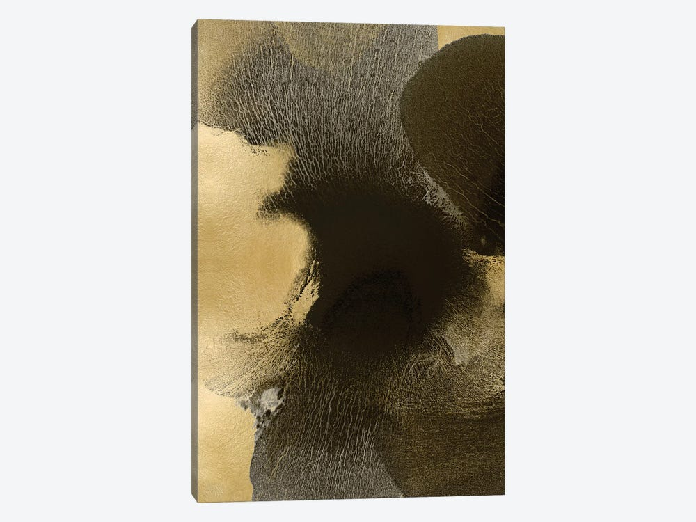 Circulate Gold I by Hannah Carlson 1-piece Canvas Art