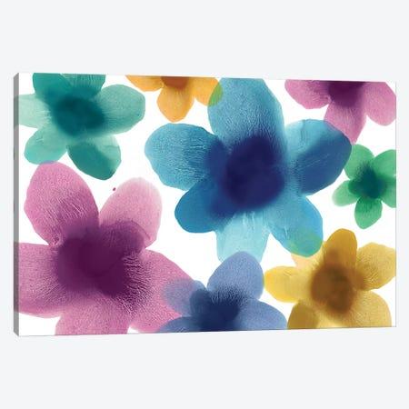 Floral Blooms IX Canvas Print #HCA32} by Hannah Carlson Canvas Art