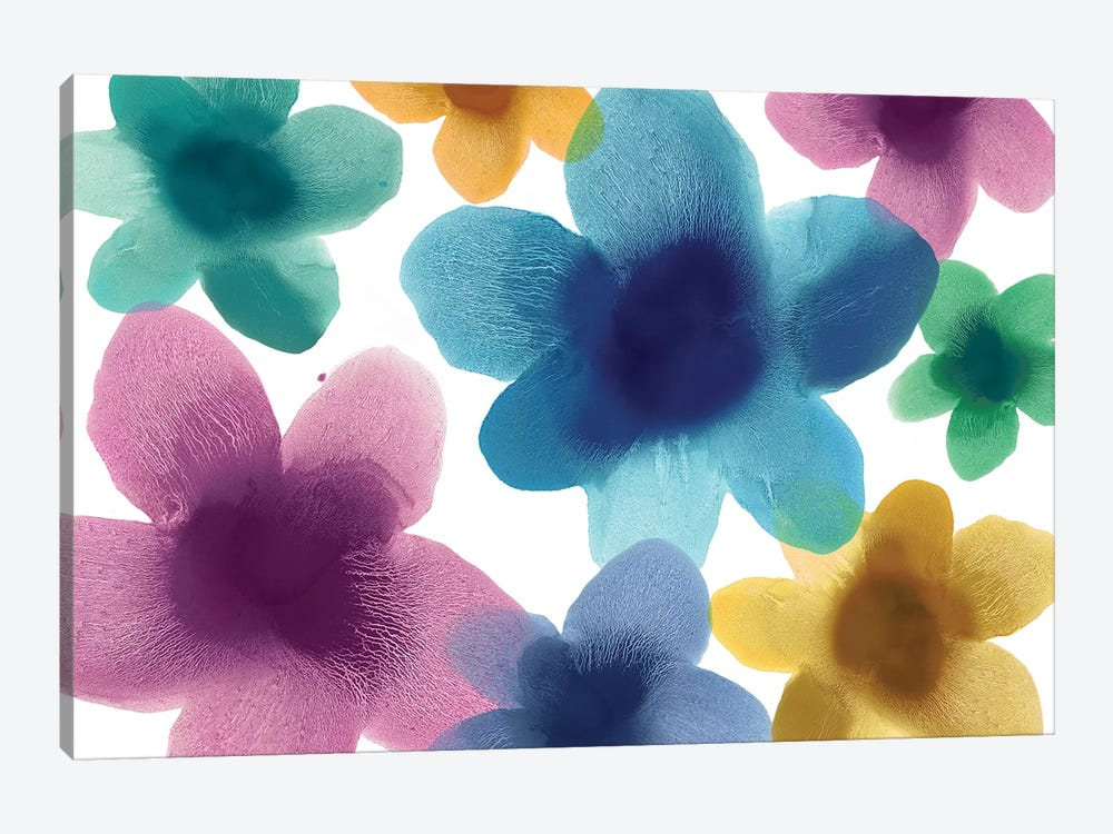 Floral Blooms IX by Hannah Carlson 1-piece Canvas Wall Art