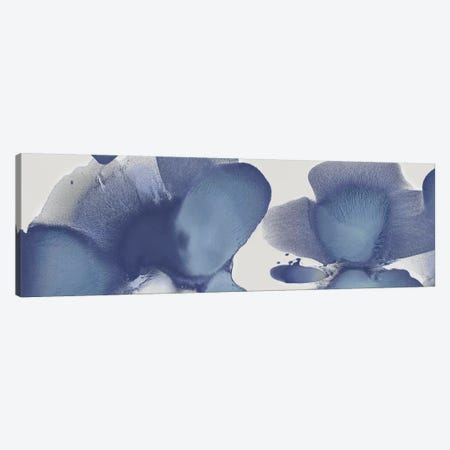 Animate Indigo I Canvas Print #HCA3} by Hannah Carlson Canvas Art
