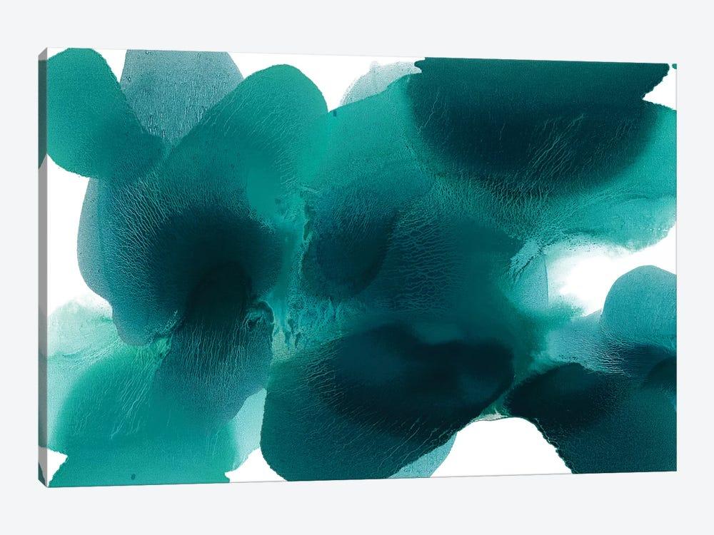Free Form Cerulean by Hannah Carlson 1-piece Canvas Art Print